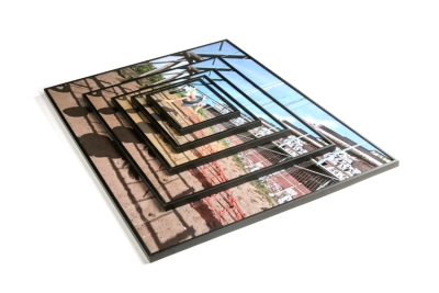 Different sized photoframes