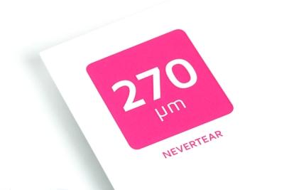 Print je onscheurbare en waterbestendige flyers en posters op Nevertear