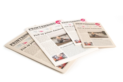 Print newspapers quickly and easily