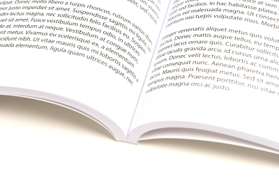 Adhesive binding: open dissertation
