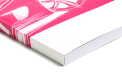 Continuous cover for threadless binding