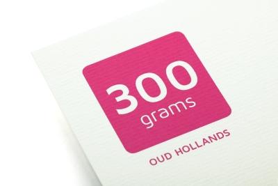 Print 300 grams Oud Hollands papier voor luxueuze kaarten
