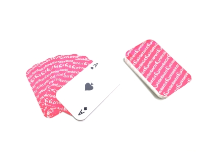 Have your own card deck printed cheaply