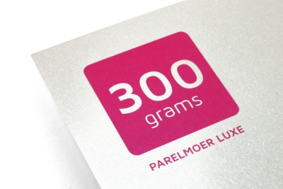 Stevig kaart papier met veel glitters voor een feestelijke uitstraling