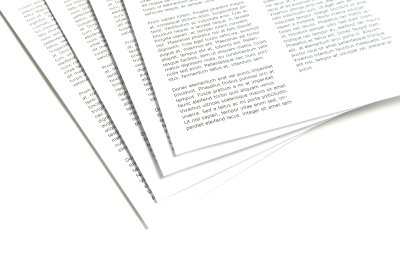 Printed poems delivered within two business days