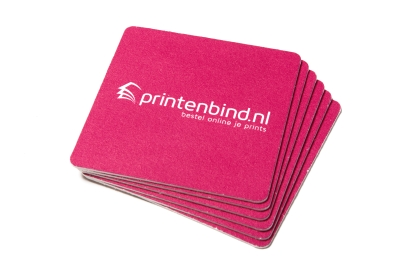 Online printing of beer mats