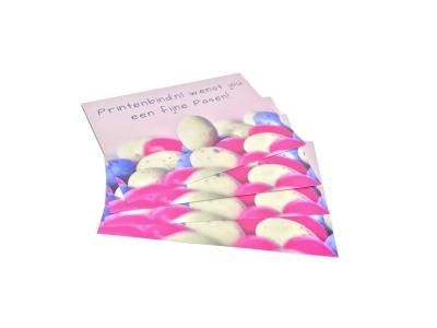 Grote en kleine oplages paaskaarten printen
