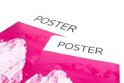 Poster laten printen, binnen twee werkdagen geleverd