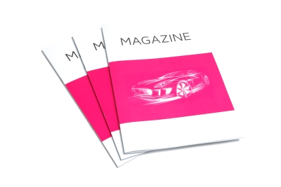 Beautiful magazines in all sorts and sizes!