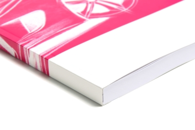 Beautiful continuous design for your softcover printing