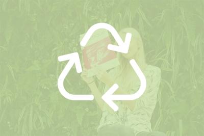 Gerecyclede producten en producten recyclen