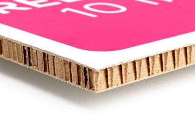Karton re-board dik karton: online printen op karton