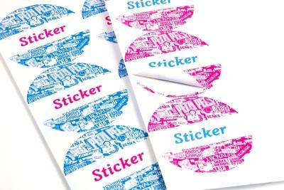 Snel printen van stickervellen: goedkoop voor kleine en grote oplages