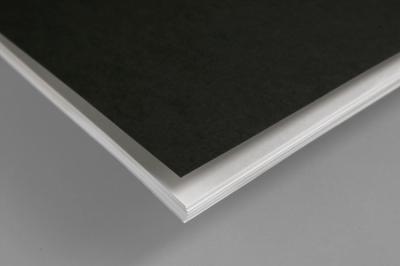 Kies een zwart, wit of transparante voor- en/of achterkant