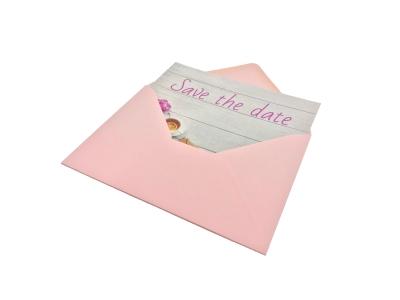 Nu ook save the date kaarten met envelop!