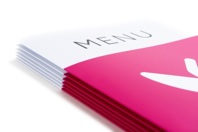 Order firm menu cards online
