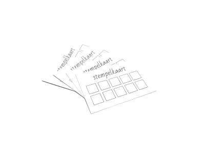 Snelle levering van stempelkaarten