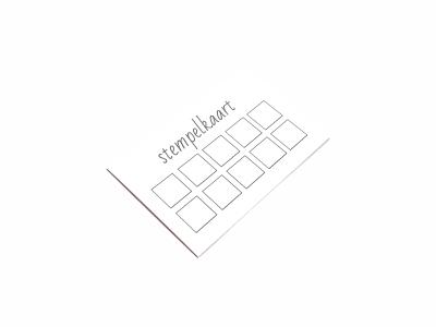 Snel en goedkoop jouw stempelkaart printen