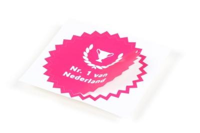 Bestel je stickers: snel, gemakkelijk en goedkoop