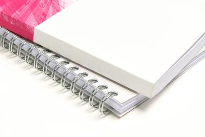 Print je boek en laat het Wire-O inbinden