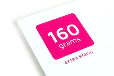 Print flyers op 160 grams papier voor een luxe uitstraling